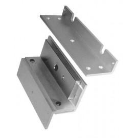 Soporte tipo U para el montaje  de  cerraduras electromagnéticas