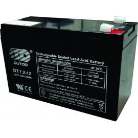 Batería de 12 voltios 7.2 amper/hora