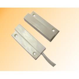 Contacto Magnético de Montaje Superficial con Cableado Lateral