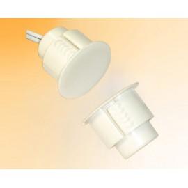 Contacto Magnético SPDT Redondo de Alta Intensidad para Montaje Empotrado