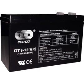 Batería de 12 voltios 9 amper/hora