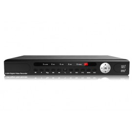 Grabador compacto de video digital en red para 8 cámaras  NVR