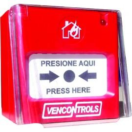 E1  Protector plástico para Estaciones Manuales.