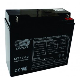 B1 Batería de 12 voltios 17 amper/hora