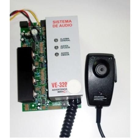 Sistema Stand Alone de Audio Evacuacion