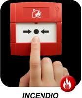 central contra Incendio, detectores de humo, difusores de sonido